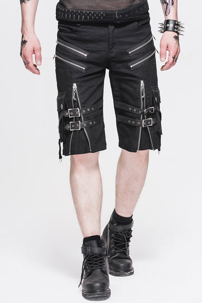 Devil Fashion Traktion Shorts - Vampirefreaks Store