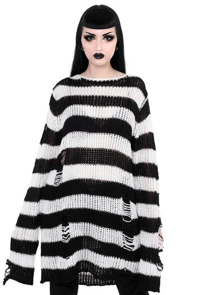 Killstar Pugsley Knit Sweater - Vampirefreaks Store