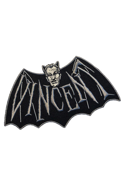 Kreepsville Vincent Price Devil Bat Patch - Vampirefreaks Store