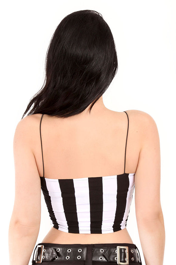 A Tim Burton Film Crop Top