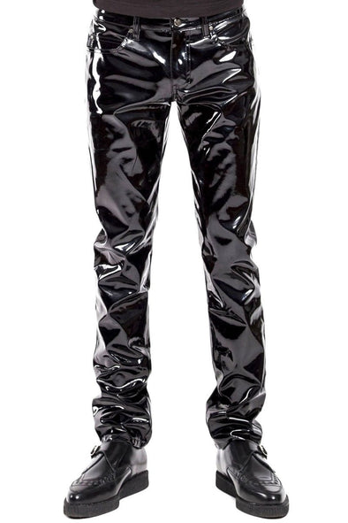 Tripp Mens Vinyl Pants