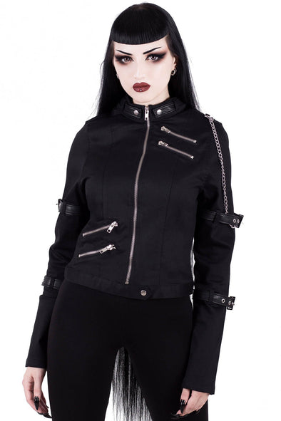 Killstar Roz Zip Jacket - Vampirefreaks Store