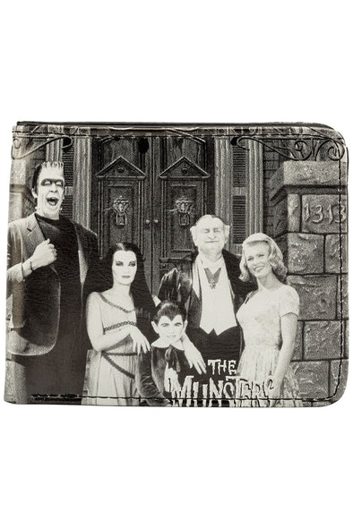Munsters Family Portrait Billfold Wallet