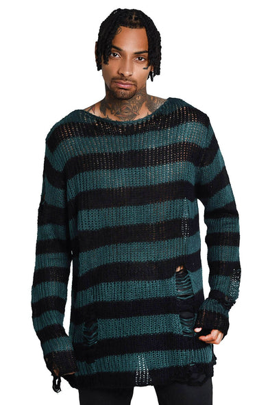 Unisex Sea Punk Knit Sweater