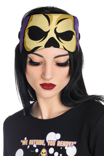 Killstar Skeletor Sleep Mask - Vampirefreaks Store