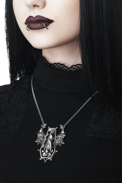 Killstar Sleepy Rose Necklace