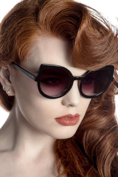 Killstar Space Kitty Sunglasses - Vampirefreaks Store