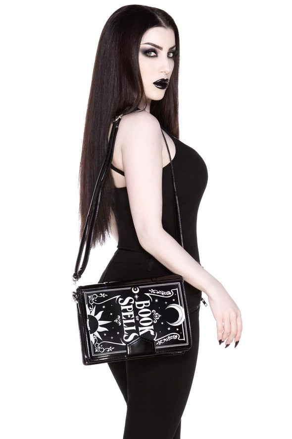 witch occult messenger bag