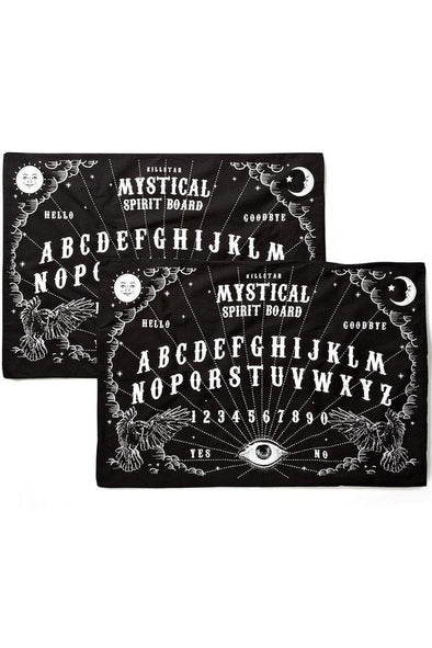 Killstar Spiritboard Pillow Cases (Set of 2)