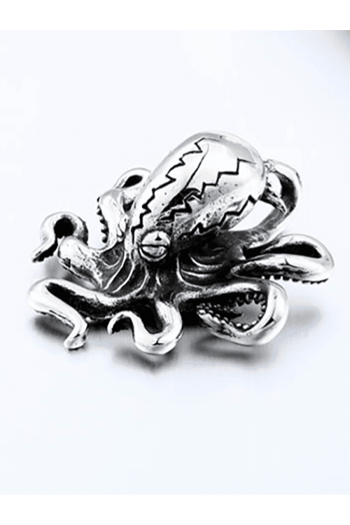 Beier Octopus Necklace (Stainless Steel)
