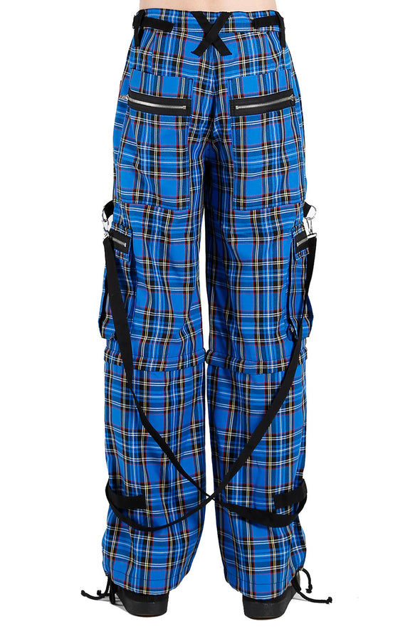 Tripp Clash Pants [Blue Plaid]