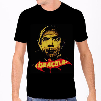 Rock Rebel Dracula T-shirt (Yellow Print) - Vampirefreaks Store