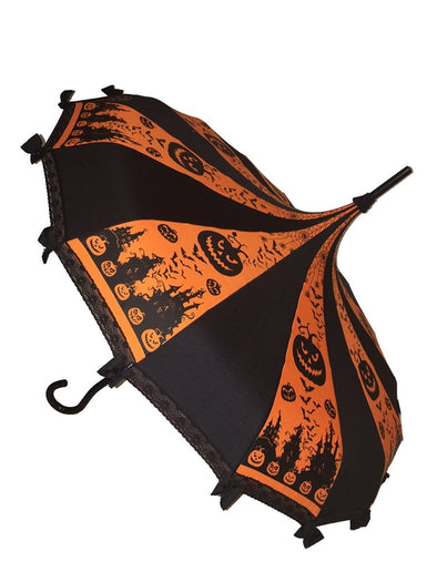 Hilarys Vanity Halloween Umbrella (Orange)