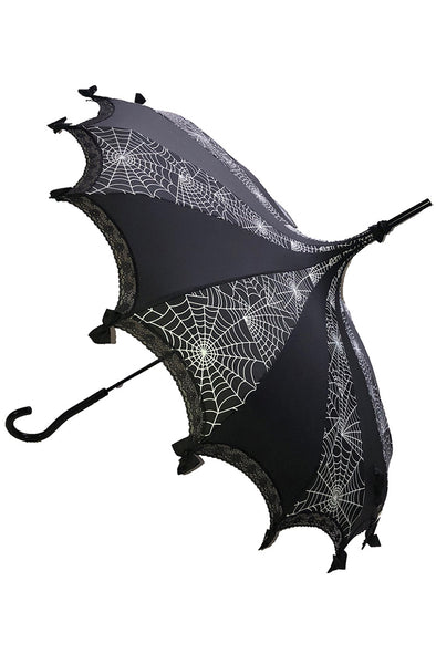 Hilarys Vanity Spiderweb Umbrella