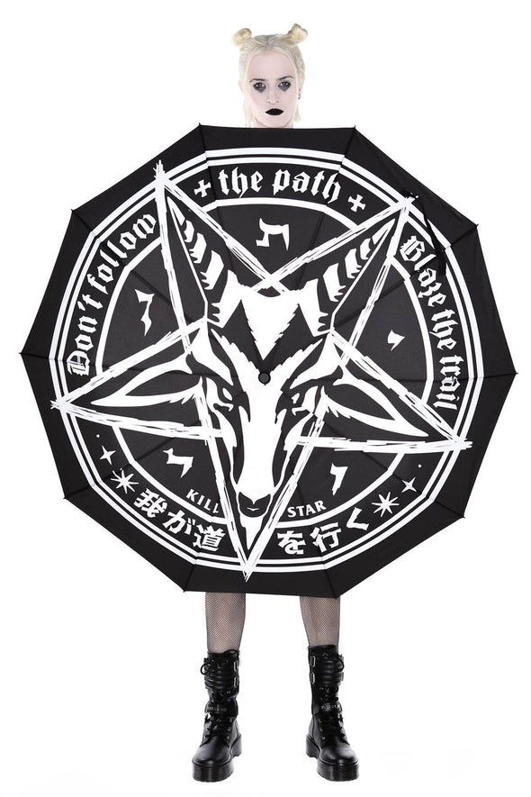 baphomet umbrella