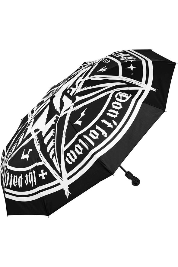 gothic occult witch umbrella