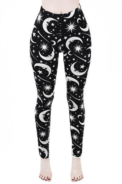 Killstar Under the Stars Leggings - Vampirefreaks Store
