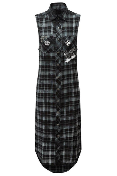 Killstar Unplugged Woven Maxi Dress