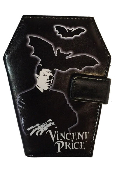 Kreepsville Vincent Price Coffin Wallet - Vampirefreaks Store