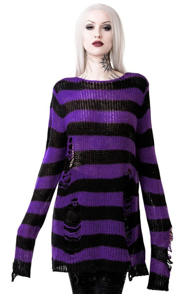Killstar Wonka Knit Sweater - Vampirefreaks Store