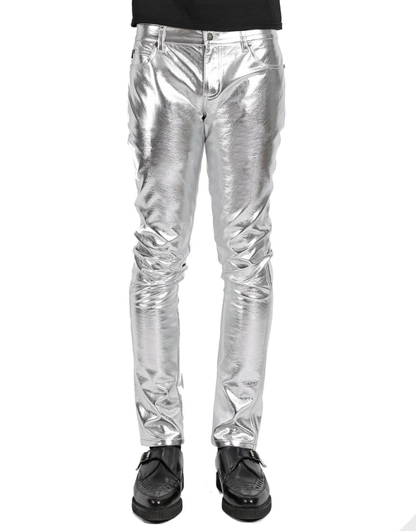 Tripp Metallic Silver Pants