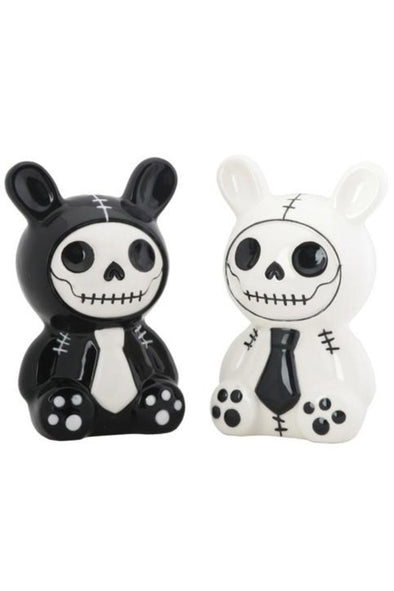 Furrybones Bun Bun Salt & Pepper Shakers