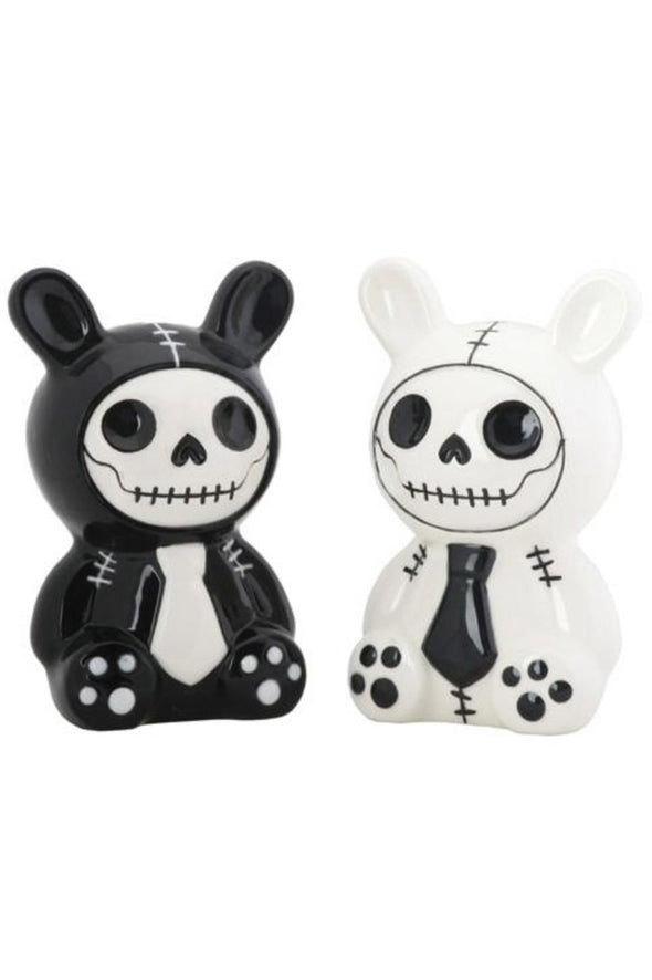 rabbit salt and pepper shakers