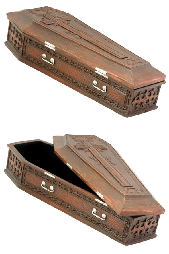 Vampire Cross Coffin Box - Vampirefreaks Store