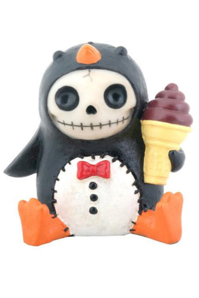 penguin toy statue