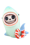kawaii shark statue toy