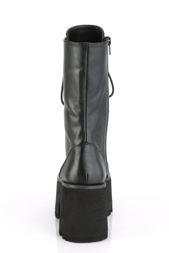 Ashes to ASHES-105 Boots [Black Vegan Leather]
