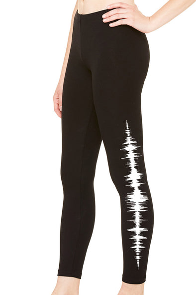 VampireFreaks Audio Wave Leggings