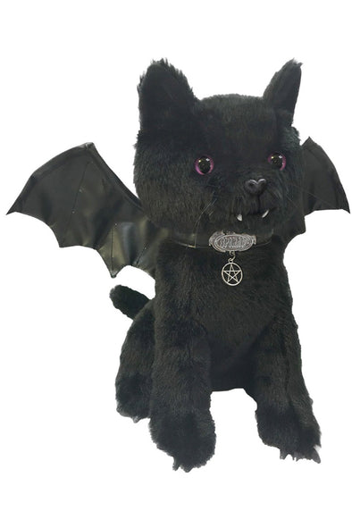 "Bat Cat Soft 12"" Plush Toy - Vampirefreaks Store"