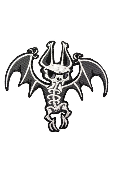 Batty Bones Embroidered Patch