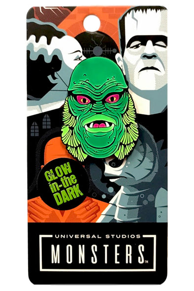 Creature From the Black Lagoon Head Enamel Pin - Vampirefreaks Store