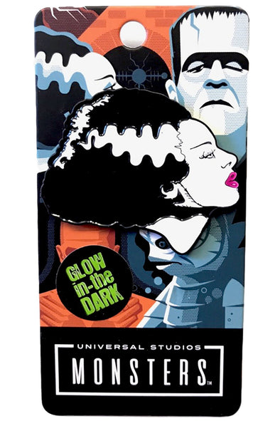 Rock Rebel Bride Of Frankenstein Enamel Pin - Vampirefreaks Store