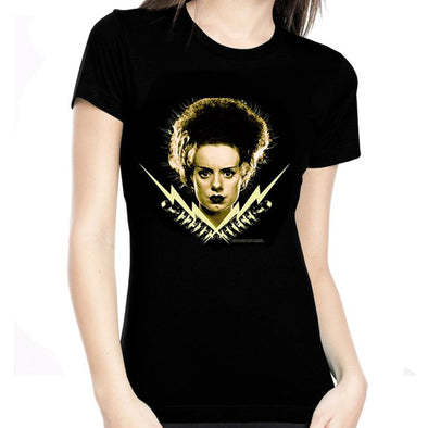 "Rock Rebel Bride Of Frankenstein ""Bride Bolt"" Women's Tee"