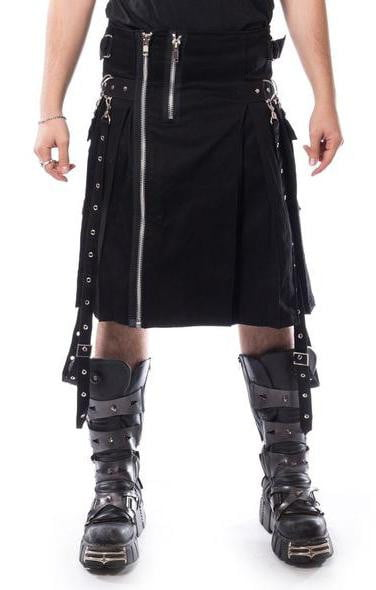 Chemical Black Carl Kilt - Vampirefreaks Store