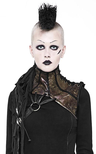 Punk Rave Steampunk Shoulder Harness + Collar - Vampirefreaks Store
