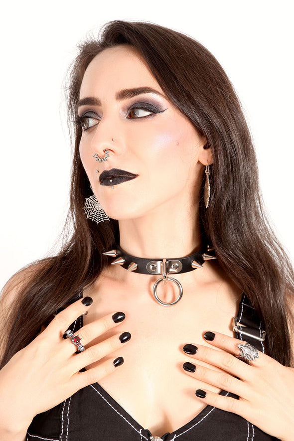 Beauty in the Beast Bondage Choker