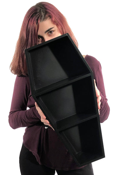 Deluxe Goth Coffin Shelf