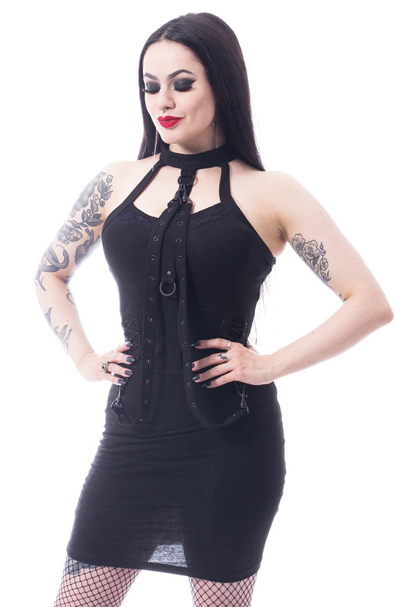 Poizen Corza Dress - Vampirefreaks Store