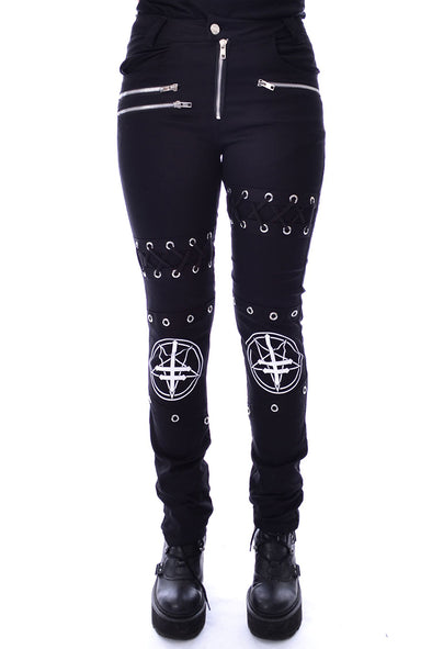 Heartless Craven Ladies Pants - Vampirefreaks Store
