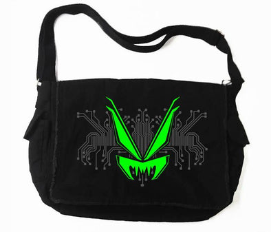 VampireFreaks Cyber Circuit Messenger Bag