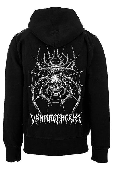 Death Widow Hoodie (Zipper or Pullover)