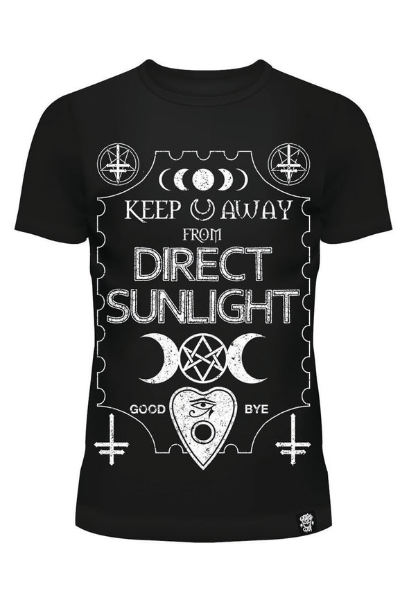 Keep Away from Direct Sunlight Tee