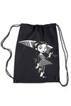 VampireFreaks Wednesday Hates Everything Drawstring Backpack - Vampirefreaks Store