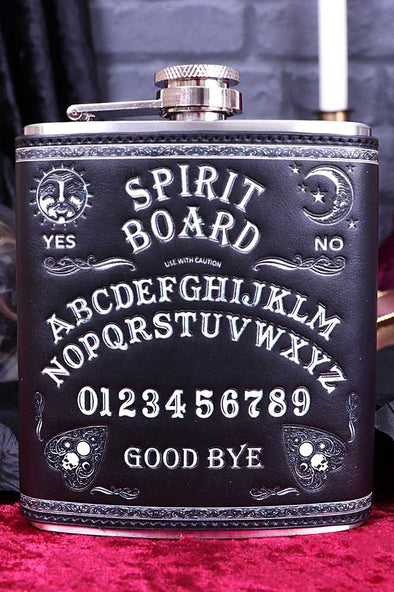 Spirit Board Hip Flask