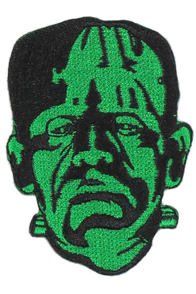 Rock Rebel Frankenstein Head Patch - Vampirefreaks Store