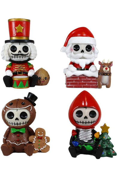 Furrybones 2020 Christmas Limited Edition Mini Statue Set